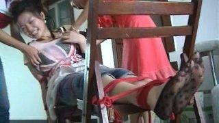 The Disobedient Cleaning Ladies' Ticklish Punishment 1/2