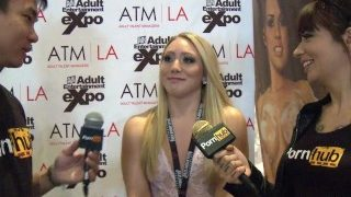 PornhubTV AJ Applegate Interview at 2014 AVN Awards