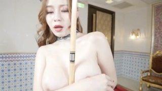 台湾贝蒂超靓嫩模Ë奶羽沫(张语欣)VIP情爱视频之性感女仆装台球案上模拟啪啪啪诱惑十足1080P原版的