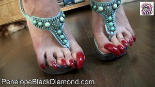 Penelope Black Diamond Footlick  Footjob Blowjob Milk Preview