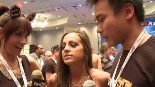 PornhubTV Abigail Mac Interview at 2014 AVN Awards